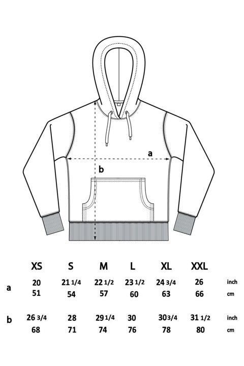 Größentabelle Damen Pullover EP51P