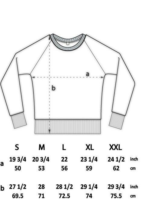 Größentabelle Herren Longsleeve Shirt