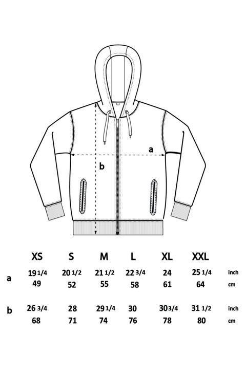 Größentabelle Herren Pullover EP68Z