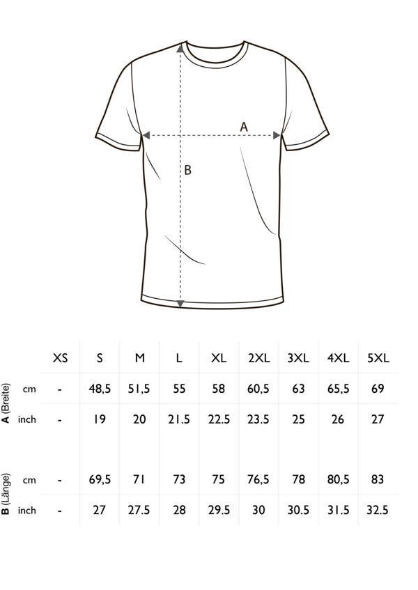 online store 9b008 d5844 Herren Warnschutz T-Shirt mit Reflexstreifen EN ISO 20471 Avenue